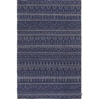 Kilim Freedom Etnico 12 Steel/Dark Blue