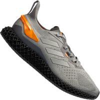 Tenis Adidas X90004D Masculino - Cinza/Laranja