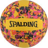 Bola De Vôlei Spalding Eva Foam Series Volley 5 72355Z - Amarelo/Rosa