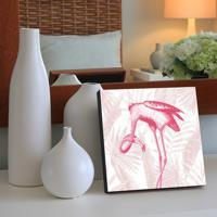 Quadro - Vintage Flamingo