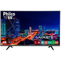 Tv 4K Led Philco Ptv55U21Dswnt Netflix Bivolt