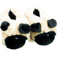 Pantufa Ricsen 3D Pug Feminina - Feminino-Bege
