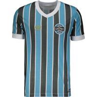 Camisa Umbro Grêmio Retró Masculina Azul/Preto - P