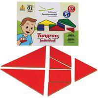 Tangram Individual Cartela Com 1 Jogo 07 Peças - Fundamental