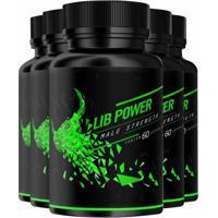 Lib Power Male Strength - Promoção 5 Unidades