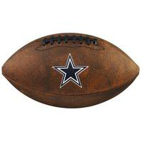 Bola De Futebol Americano Wilson Nfl Team Jr. Marrom - Dallas Cowboys - Unico Incolor