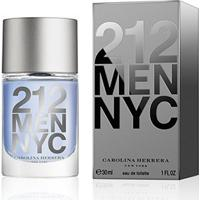 Perfume Masculino 212 Men Carolina Herrera Eau De Toilette 30Ml - Masculino