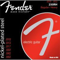 Encordoamento Para Guitarra Fender 250Rh 0.10 Aço Niquelado