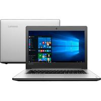"Notebook Lenovo G40-70 80Ga000Bbr - Prata - Intel Core I5 - Ram 4Gb - Hd 1Tb - Tela 14"""