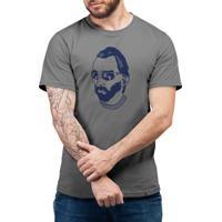 Gogh Hipster - Camiseta Basicona Unissex