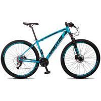 Bicicleta Mtb Aro 29 Quadro 17 Alumínio 27 Marchas Freio Hidráulico Vega Azul - Spaceline