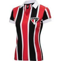 Camisa Retrô São Paulo 1957 Feminina - Feminino
