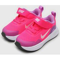 Tênis Nike Infantil Wearallday Bt Rosa