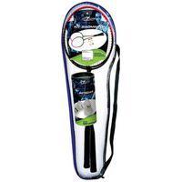 Kit Badminton Com 2 Raquetes E 3 Petecas - Zein Zein831684
