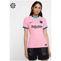 Camisa Nike Barcelona Iii 2020/21 Torcedora Pro Feminina