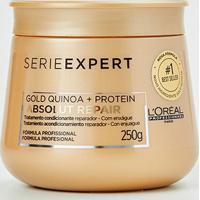 Máscara De Tratamento L'Oréal Professionnel Absolut Repair Gold Quinoa + Protein - 250G - Feminino-Incolor