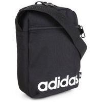 Bolsa Adidas Linear Organizer Unissex - Preto E Branco
