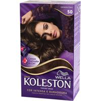 Tintura Wella Koleston Kit Creme 50 Castanho Claro