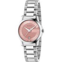 Relógio Gucci Feminino Aço - Ya126524