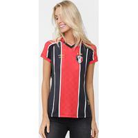 Camisa Joinville I 2015 S/Nº Torcedor Umbro Feminina - Feminino