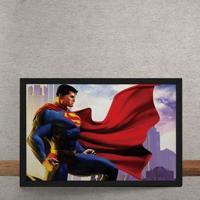 Quadro Decorativo Super Homem Dc Comics 25X35