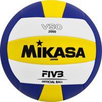 Bola Vôlei Mikasa Vso2000 Azul