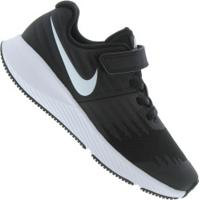 Tênis Nike Star Runner - Tira Em Velcro - Infantil - Preto/Branco