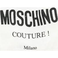 Moschino Kids Gorro De Tricô Com Logo - Branco