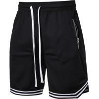 Bermuda Basket 90'S - Preto