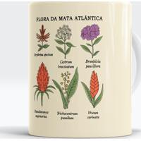Caneca Flora Da Mata Atlântica