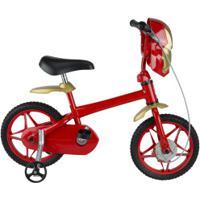 Bicicleta Disney Homem De Ferro - Aro 12 - Infantil - Vermelho