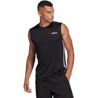 Camiseta Regata Adidas Design 2 Move 3 Stripes