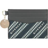 Givenchy Porta-Cartões Com Estampa De Logo - Azul