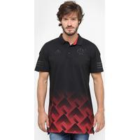 Camisa Polo Flamengo Adidas Premium Masculina - Masculino