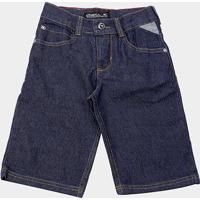 Bermuda Jeans Infantil O'Neill Lisa Masculina - Masculino-Azul