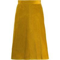 M Missoni Corduroy Skirt - Amarelo