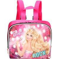 Lancheira Barbie Rock'N Royals 16, Rosa - 064349-08 - Sestini