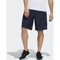 Shorts Adidas Malha Colorblock Aeroready Hf4108