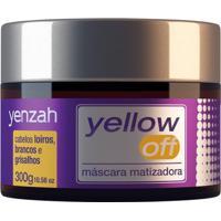 Máscara Matizadora Yenzah Yellow Off 300G - Unissex-Incolor