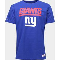 Camiseta Nfl New York Giants Mitchell & Ness Big Logo Masculina - Masculino