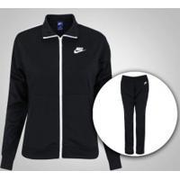 Agasalho Nike Sportswear Track Suit - Feminino - Preto
