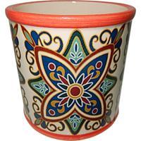 Cachepot Urban Home De Cerâmica Vermelho Zieds Grande N