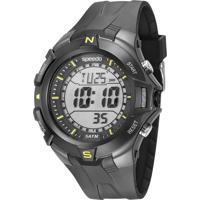 Kit De Relógio Digital Speedo Masculino + Carregador Portátil - 81146G0Evnp1Kb Preto