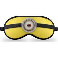 Máscara De Dormir Malvadinho Geek10 Amarelo