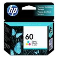 Cartucho Hp 60 6,5Ml Tricolor Original Cc643Wb