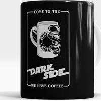 Caneca Dark Side Coffee