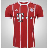Camisa Bayern De Munique I 17 18 Adidas - Masculina - Vermelho Branco 8feec948dc136