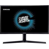 Monitor Gamer Samsung Qled Curvo 24 Polegadas C24Fg73F Preto