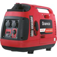 Gerador De Energia Inverter Branco B4T-2000I A Gasolina 2.0 Kva 110V