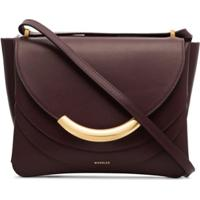 Wandler Luna Arch Shoulder Bag - Vermelho